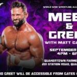 Meet & Greet with Matt Cardona